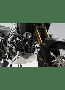 Light mounts Black. For Honda CRF1000L (15-) without Crashbar.