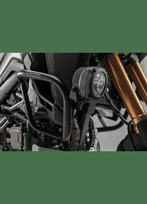 Light mounts Black. For Honda CRF1000L (15-) with Crashbar.