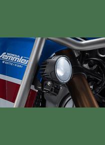 EVO fog light kit Black. For Honda CRF1000L Adv Sports (18-).
