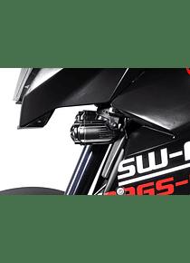 Light mounts Black. KTM 990 SMT (08-14).