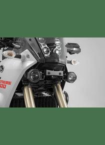 Light mounts Black. Yamaha Tenere 700 (19-).