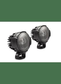 EVO fog light kit Black. BMW R1200GS/Rallye (12-), R1250 (18-).