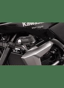 Light mount Black. Kawasaki Versys 650 (10-14).