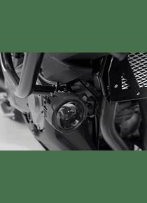 Light mounts Black. Kawasaki Versys 1000 (15-18).
