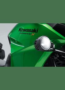 Light mounts Black. Kawasaki Versys-X300 ABS (16-).