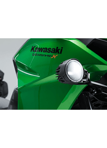 EVO high beam kit Black. Kawasaki Versys-X300 ABS (16-).