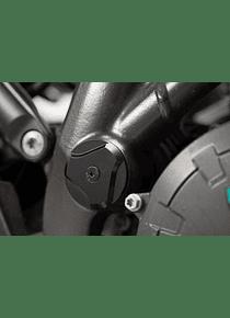 Frame cap set Black. KTM 1050/1090/1190 Adv,1290 SAdv.