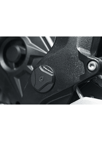 Frame cap set Black. BMW S 1000 XR (15-).