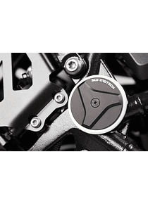 Frame cap set Black. BMW R1200GS, R1200/1250RT, R1250GS.