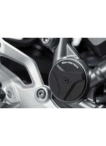 Frame cap set Black. BMW R1200 R/RS (14-18), R1250 R/RS (18-).