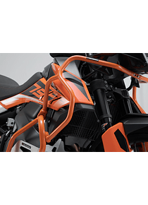 Upper crash bar Orange. KTM 790 Adventure/ 790 Adventure R (19-).