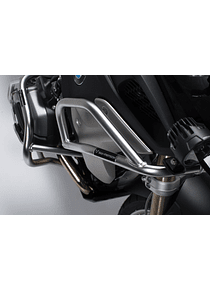 Upper crash bar Stainless steel. BMW R1200GS , R1250GS.