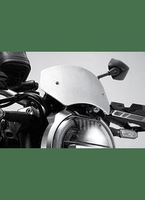 Windscreen Silver. Honda CB 1000 R (18-).