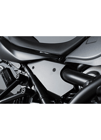 Frame cover set 3 pcs. Black. Suzuki SV650 ABS (15-).