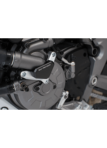 Water pump protection Silver/black. Ducati models.