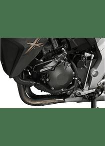 Slider set for frame Black. Honda CB 1000 R (08-17).