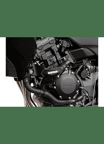Slider set for frame Black. Honda CBF 1000 (06-09) CBF 1000 F (09-).