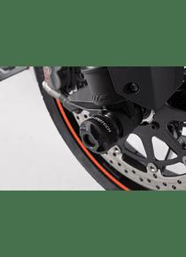 Slider set for front axle Black. KTM 990 SMR/SMT, 1290 Super Duke R / GT.