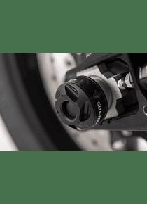 Slider set for rear axle Black. KTM 1050/1090/1190 Adv, 1290 SAdv.