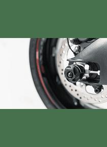 Slider set for rear axle Black. Suzuki GSX-S1000 / F (15-).