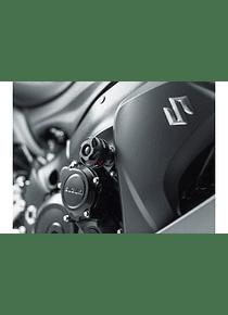 Slider set for frame Black. Suzuki GSX-S 1000 (15-).