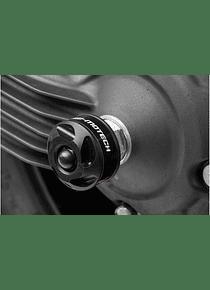 Slider set for rear axle Black. Yamaha XT1200Z Super Tenere (10-).