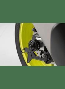 Slider set for rear axle Black. Yamaha YZF-R1 (15-) / MT-10 (16-).