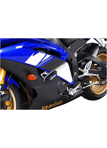 Slider set for frame Black. Yamaha YZF-R6 (08-16).