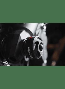 Slider set for front axle Black. Kawasaki Z 800 (12-), Z 1000 (14-).
