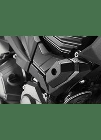 Slider set for frame Black. Kawasaki Z 800 (12-).