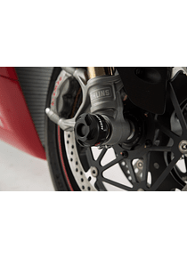 Slider set for front axle Black. Ducati 899/959/1299 Panigale, XDiavel/S.