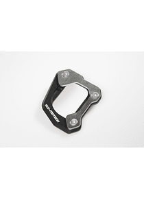 Extension for side stand foot Black/Silver. BMW F650GS/F800GS, Husqvarna TR650