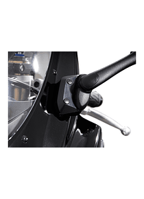Mirror extension Profile. Black. Suzuki GSX-R 600 / 750.