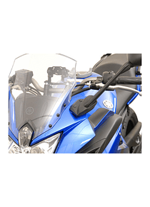 Mirror extension Profile. Black. Yamaha XJ-6 Diversion F (10-).