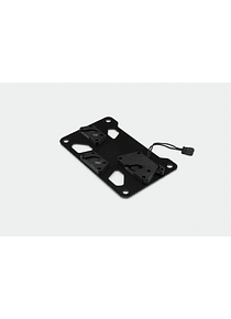 Adapter plate left for SysBag 10 Black.