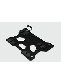 Adapter plate left for SysBag 30 Black.