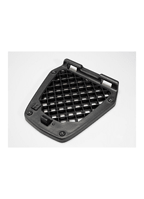 Spare base plate for T-RaY top case Basic/M For STEEL-RACK and other luggage racks. Black.