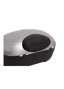 T-RaY top case passenger backrest Black. For T-RaY topcase M/ L/ XL.