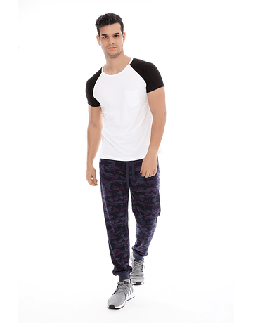 JOGGER - SWISS LORD - CAMO NAVY