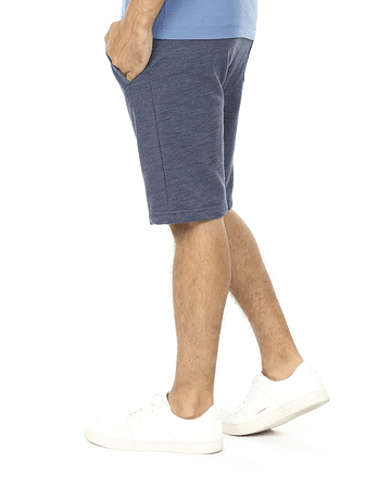 SHORT HOMBRE - SWISS LORD - CENDRE BLUE