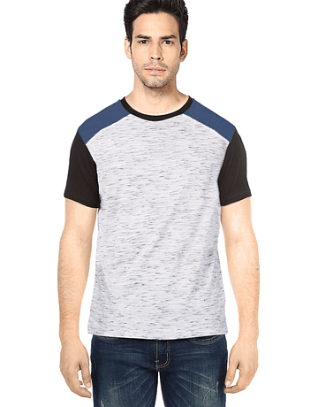 POLO PATCHWORK - SWISS LORD - BLANCO RG/ACERO