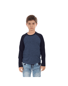POLO NIÑO - SWISS LORD KIDS - AZUL/AZUL RG