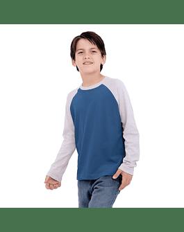 POLO NIÑO - SWISS LORD KIDS - GRIS/ACERO
