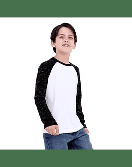 POLO NIÑO - SWISS LORD KIDS - NEGRORG/BLANCO