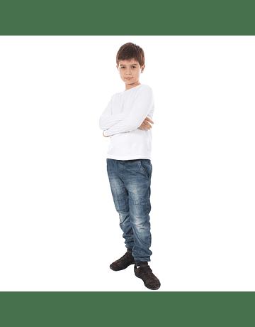 POLO NIÑO - SWISS LORD KIDS - BLANCO