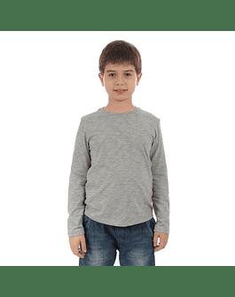 POLO NIÑO - SWISS LORD KIDS - GRIS