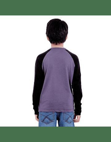 POLO NIÑO - SWISS LORD KIDS - NEGRODOIT/MERLOT