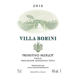 2016 Villa Borini
