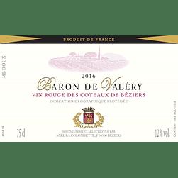 2016 Baron de Valéry