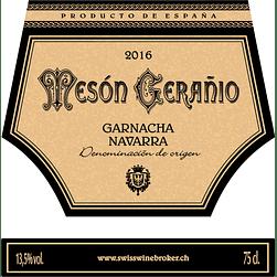 2016 Mesón Gerañio